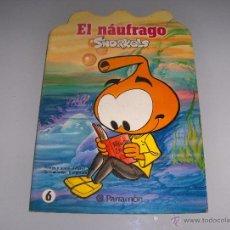 Libros de segunda mano: EL NAUFRAGO SNORKELS - TROQUELADO - PARRAMON. Lote 52157127