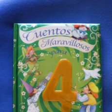 Libros de segunda mano: CUENTOS MARAVILLOSOS PARA 4 AÑOS. Lote 52458890