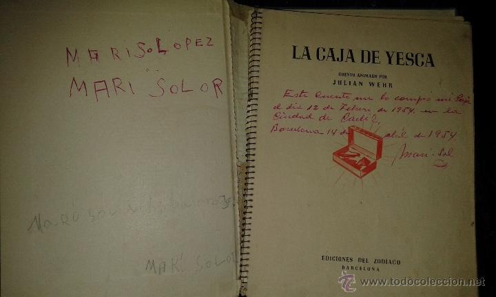 Libros de segunda mano: CUENTO LA CAJA DE YESCA. ANIMADO. JULIAN WEHR - Foto 3 - 52541815