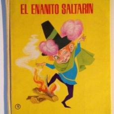 Libros de segunda mano: EL ENANITO SALTARIN. HERMANOS GRIMM. EDITORIAL ROMA, 1965. CUENTOS CLASICOS Nº 5.. Lote 52601200