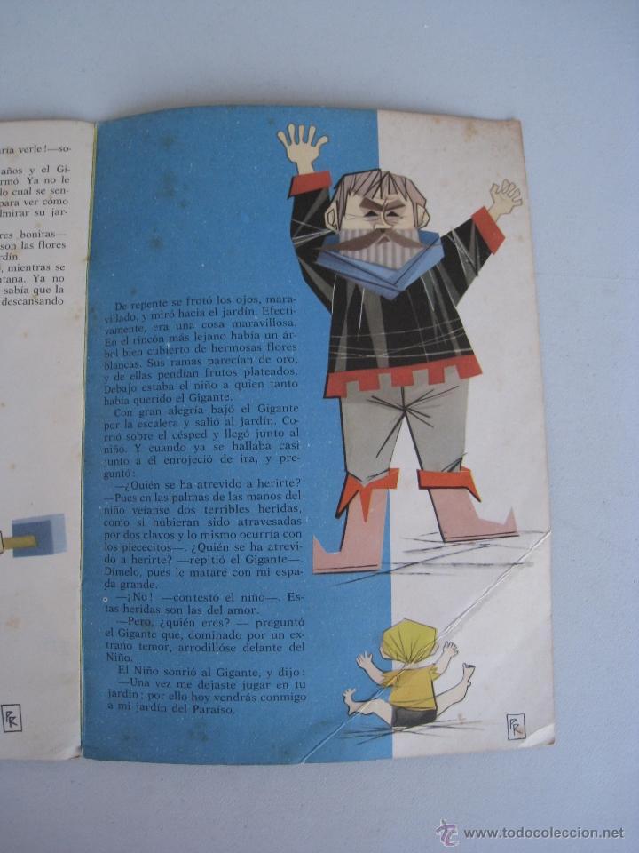 Libros de segunda mano: EL GIGANTE EGOISTA - ILUSTRACIONES PABLO RAMIREZ - EDITORIAL MOLINO 1961. - Foto 5 - 52740075