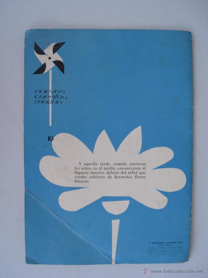 Libros de segunda mano: EL GIGANTE EGOISTA - ILUSTRACIONES PABLO RAMIREZ - EDITORIAL MOLINO 1961. - Foto 6 - 52740075