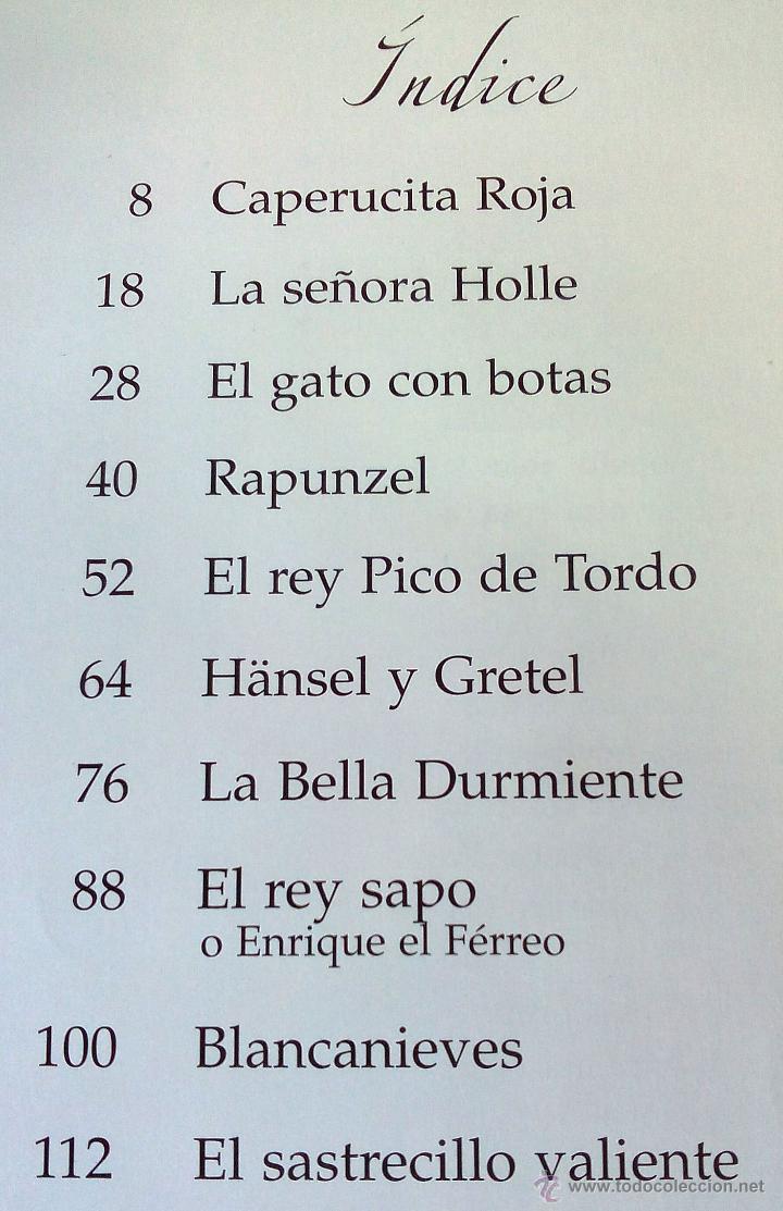 Gebrauchte Bücher: CUENTOS DE LOS HERMANOS GRIMM. KAMMERER - Foto 2 - 45057642