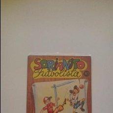 Libros de segunda mano: SORIANITO FUTBOLISTA Nº 1 - COLECCIÓN DEPORTIVA EDITORIAL ROMA - BARCELONA. Lote 52765875