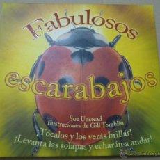 Libros de segunda mano: FABULOSOS ESCARABAJOS. SUE UNSTEAD/GILL TOMBLIN. RBA. 2006. Lote 52989690