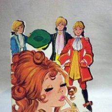Libros de segunda mano: LIBRO INFANTIL, CUENTO TROQUELADO, LOS TRES SASTRES, # 73, MINICLASICOS TORAY, 1969. Lote 53083540
