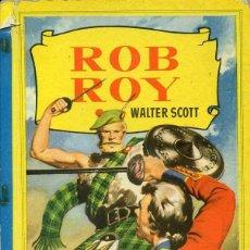 Libros de segunda mano: ROB ROY - COLECCION CORINTO (1957). Lote 53176146