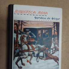 Libros de segunda mano: BIBLIOTECA ROSA. CONDESA DE SÉGUR.CUENTO DE CUENTOS. Lote 53224596