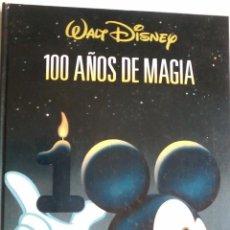 Libros de segunda mano: 100 AÑOS DE MAGIA-WALT DISNEY. Lote 53245149
