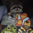 Libros de segunda mano: LOTE 6 CUENTOS TROQUELADOS TAPA DURA EDICIONES LA GAVIOTA FORMAS ANIMALES PATO ERIZO .... Lote 53246777