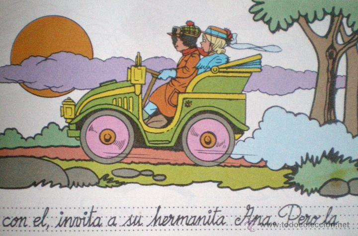 Libros de segunda mano: Cuento troquelado para pintar-las aventuras de Jaime y Ana-el coche de Carlitos Gaviota 1986 nuevo - Foto 2 - 53249485