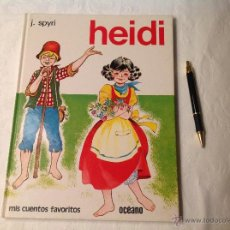 Libros de segunda mano: HEIDI -OCÉANO . Lote 53262349