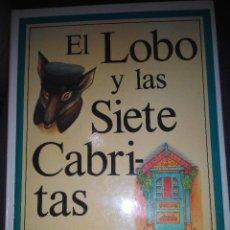 Libros de segunda mano: EL LOBO Y LAS SIETE 7 CABRITAS GAHAM PERCY CUENTO ILUSTRADO PERALT MONTAGULD. Lote 53262522
