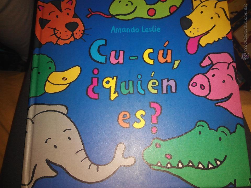 CU CU QUIEN ES ? AMANDA LESLIE CUENTO ILUSTRADO LIBRO ILUSTRADO BUEN ESTADO (Libros de Segunda Mano - Literatura Infantil y Juvenil - Cuentos)