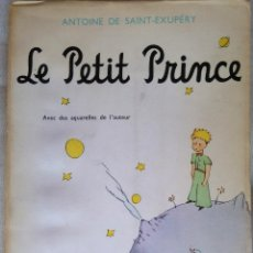 Libros de segunda mano: LIBRO-EL PRINCIPITO- LE PETIT PRINCE EN FRANCES, AÑO 1971, DE ANTOINE DE SANT EXUPERY,RARA EDICION. Lote 53338061