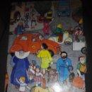 Libros de segunda mano: LIBRO DESPLEGABLE ILUSTRADO EN LA CIUDAD EDICION DIFICIL. Lote 53376289