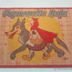 Libros de segunda mano: CUENTO ANIMADO CAPERUCITA ROJA - BRUGUERA - ILUSTRACIONES SALVADOR MESTRES - . Lote 53473566