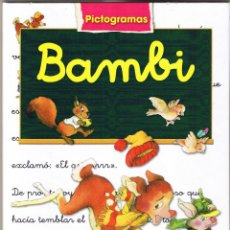 Libros de segunda mano: BAMBI - PICTOGRAMAS - SUSAETA . Lote 53493731