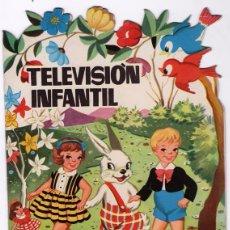 Libros de segunda mano: CUENTO TROQUELADO TORAY TELEVISION INFANTIL 1958 ILUSTRACIONES TEXTO SOTILLOS GALCERAN IMPECABLE. Lote 53516863