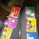 Libros de segunda mano: LOTE 7 EJEMPLARES UN BARCO CARGADO DE CUENTOS SM MINI LIBROS 1997 NINICUENTOS. Lote 53582716