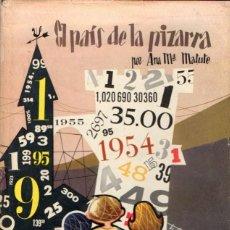 Libros de segunda mano: ANA Mª MATUTE : EL PAÍS DE LA PIZARRA (MIS PRIMEROS CUENTOS MOLINO) ILUSTRADO POR PABLO RAMÍREZ. Lote 53807877