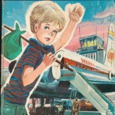 Ladis va al Oeste. Pastas duras. (32x22) 40 páginas con ilustraciones. Marfil 1969.