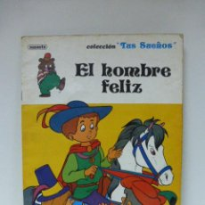 Libros de segunda mano: LIBRO CUENTO EL HOMBRE FELIZ TUS SUEÑOS.SUSAETA-1986. Lote 53897826