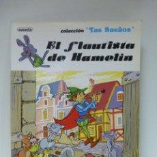 Libros de segunda mano: LIBRO CUENTO EL FLAUTISTA DE HAMELIN TUS SUEÑOS.SUSAETA. Lote 53897845