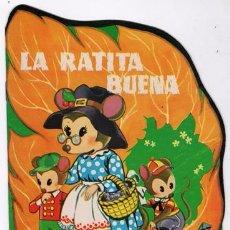 Libros de segunda mano: CUENTO TROQUELADO TORAY # 1 LA RATITA BUENA 1958 ILUSTRACIONES TEXTO ANDRES BAÑOLAS IMPECABLE. Lote 53945594