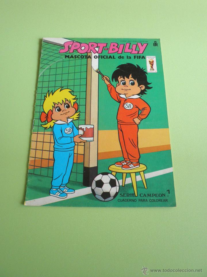 cuaderno para colorear sport-billy mundial fútb - Comprar Libros de ...