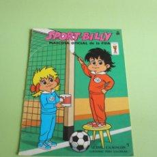 Libros de segunda mano: CUADERNO PARA COLOREAR SPORT-BILLY MUNDIAL FÚTBOL ESPAÑA 82 SIN RELLENAR EDITORIAL ROMA 1982. Lote 54081817
