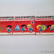 Libros de segunda mano: PASATIEMPOS INFANTILES BRUGUERA/1974. Lote 54420431