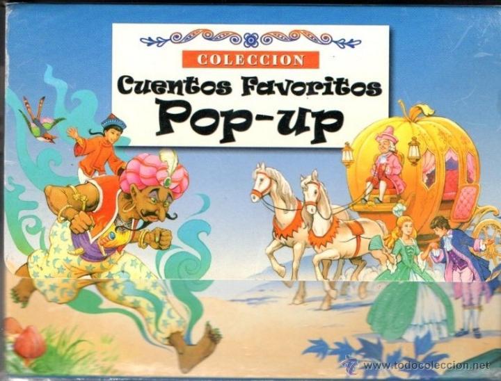 ESTUCHE CON CUATRO POP UP FAVORITOS SUSAETA (2003) (Libros de Segunda Mano - Literatura Infantil y Juvenil - Cuentos)