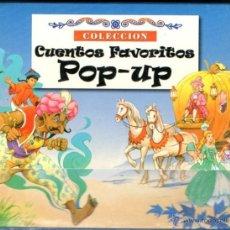 Libros de segunda mano: ESTUCHE CON CUATRO POP UP FAVORITOS SUSAETA (2003). Lote 86597674