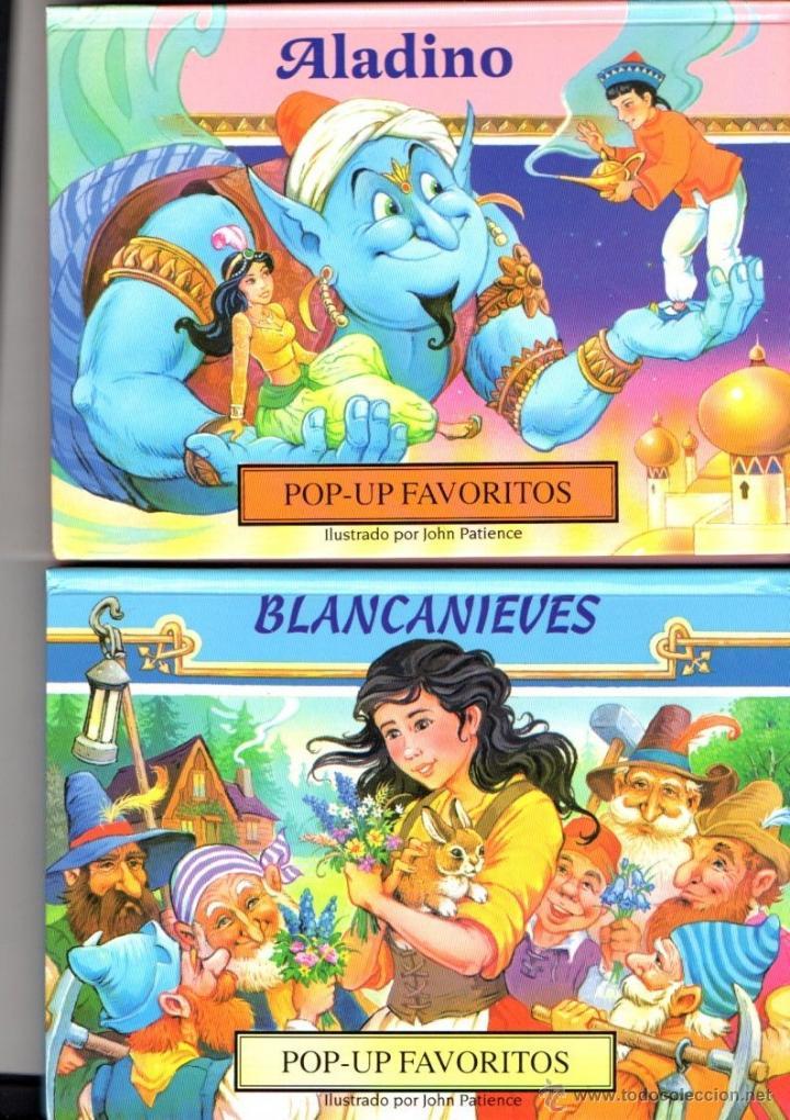 Libros de segunda mano: ESTUCHE CON CUATRO POP UP FAVORITOS SUSAETA (2003) - Foto 3 - 86597674