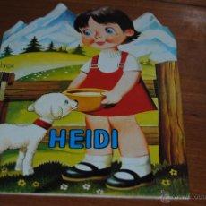 Libros de segunda mano - C62 ANTIGUO CUENTO TROQUELADO HEIDI VILMAR EDICIONES 1972 - 54501605