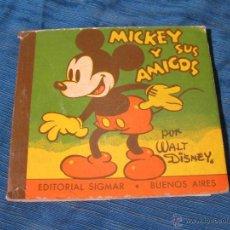 Libros de segunda mano: CUENTO MICKEY MOUSE Nº 11. MICKEY Y SUS AMIGOS. EDITORIAL SIGMAR. BUENOS AIRES. WALT DISNEY 1950. Lote 54638953