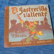 Libros de segunda mano: CUENTO MICKEY MOUSE Nº 1. EL SASTRECILLO VALIENTE. EDITORIAL SIGMAR. BUENOS AIRES. WALT DISNEY 1950. Lote 54639036