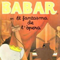 Libros de segunda mano: BABAR EN EL FANTASMA DE L'ÒPERA (BEASCOA, 1990) CATALÁN. Lote 54798481