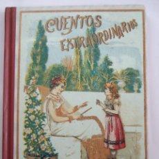 Libros de segunda mano: CUENTOS EXTRAORDINARIOS - S. CALLEJA - BIBLIOTECA ESCOLAR RECREATIVA - FACSIMIL 2003 -. Lote 54853108