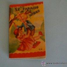 Libros de segunda mano: CUENTO EL PARAISO DE LOS NIÑOS CON PUBLICIDAD DE TINTES WIKI - AÑOS 60. Lote 54868642