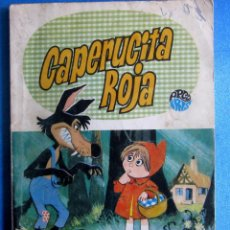 Libros de segunda mano: CAPERUCITA ROJA. CUENTOS PARA PINTAR. COLECCIÓN ARCO IRIS. EDITORIAL BRUGUERA, 1969.. Lote 54923770