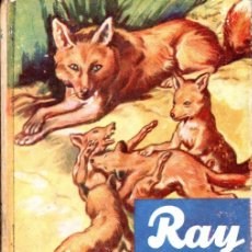Libros de segunda mano: RAY EL ZORRO (VIDAS DE ANIMALES SALVAJES MOLINO, C. 1950). Lote 54932632