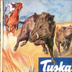 Libros de segunda mano: TUSKA EL JABALÍ (VIDAS DE ANIMALES SALVAJES MOLINO, C. 1950). Lote 277562448