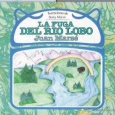Libros de segunda mano: JUAN MARSÉ : LA FUGA DEL RÍO LOBO (DEBATE, 1985) . Lote 54941538