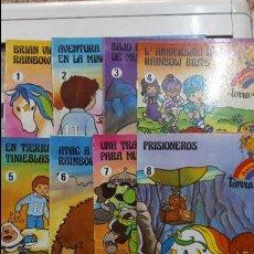 Rainbow Brite Colección Completa 8 cuentos. Publicaciones GAMA 1986. Perfecto estado.