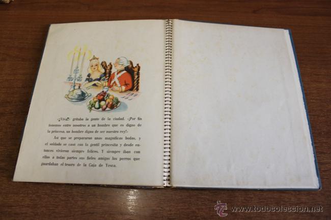 Libros de segunda mano: LA CAJA DE YESCA CUENTO ANIMADO POR JULIAN WEHR. EDICIONES ZODÍACO. BARCELONA 1949 - Foto 6 - 55025810