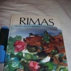 Libros de segunda mano: RIMAS - GUASTAVO ADOLFO BECQUER - COL. SAETA - SUSAETA, 1980. Lote 55136771