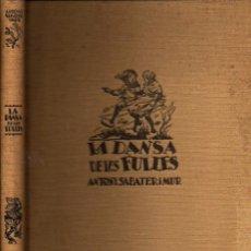 Libros de segunda mano: A. SABATER I MUR : LA DANSA DE LES FULLES (JOVENTUT, 1937) EN CATALÁN. Lote 55363373