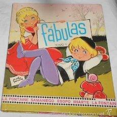 Libros de segunda mano: FÁBULAS TOMO 2, CON ILUSTRACIONES DE MARÍA PASCUAL, ED. TORAY, 1977. Lote 69230874